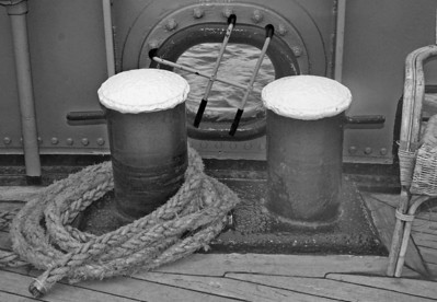 Ropes on the Friesland
