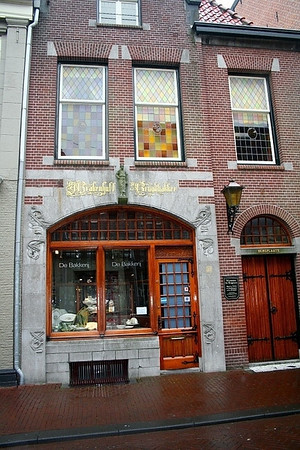 House where Nicolaas Beets was born in 1814 - Dutch theologian, writer and poet.