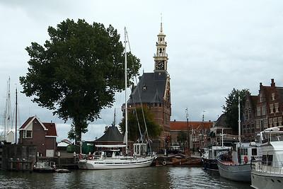 The Hoofdtoren located on the Hoorn harbour.