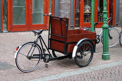 I was always fascinated by the different varieties of bicycles in the Netherlands.