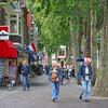 In the street - Hoorn.