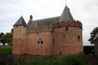 Radboud Castle, Medemblik.  The name of the castle derives from King Radboud (679-719).  It is believed he had built a stronghold in Medemblik on the exact same spot as the castle - however he could not have built this castle, since there were no buildings of stone made in those days in the Netherlands.  The actual builder of this castle is Count Floris V who was murdered in 1296.