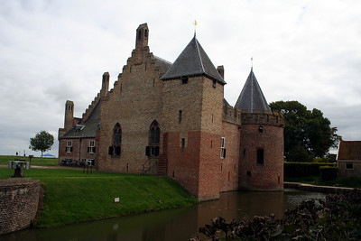 Radboud Castle was built to keep the Westfrisians in check - Floris built 5 castles in total to achieve this.