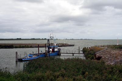 Entrance into Medemblik Harbour.