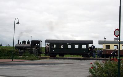 Steam train from Medemblik to Hoorn.