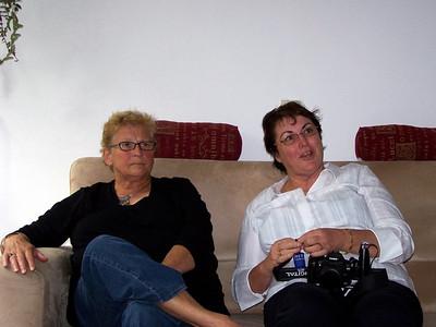 Liesbeth's sister, Ineke & Lesley - photo taken by Liesbeth.
