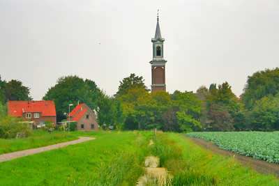 Walking towards Midwoud church