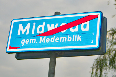 You are now leaving Midwoud and have entered the city of Medemblik.