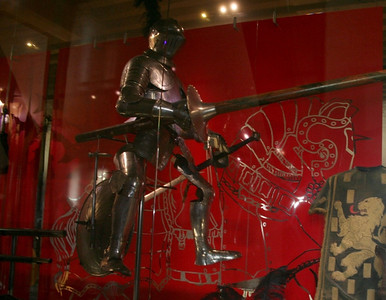 This armoury was on display in Muiderslot.