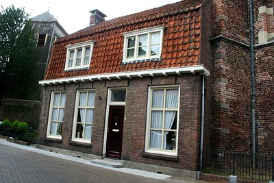 The Manse adjoining the Martinikerk - entrance opens straight out on to the street.
