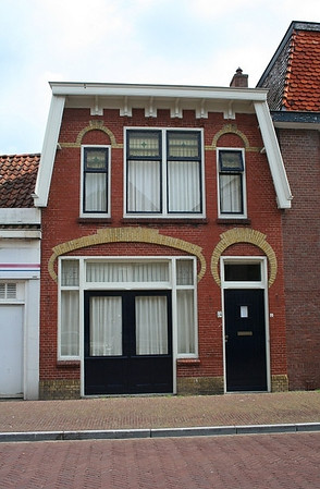 Quaint house in Sneek.