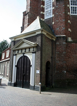 One of the entrances to the Martinikerk.