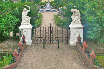 Entrance to a graveyard
