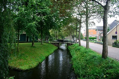 Another view of canals at Twisk - this place is so quaint and beautiful.