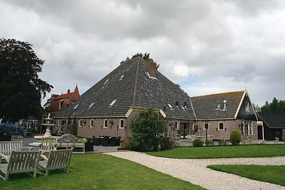 The rear view of Twiskerslot - the stables are on the far right almost out of view in this photo.