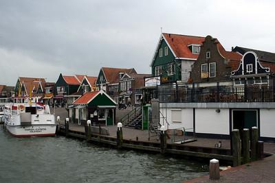 Wharf at Volendam.
