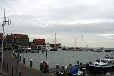 Lovely harbour at Volendam.