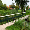 Little foot bridge over a canal