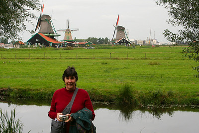 Judy at Zaanse Schans