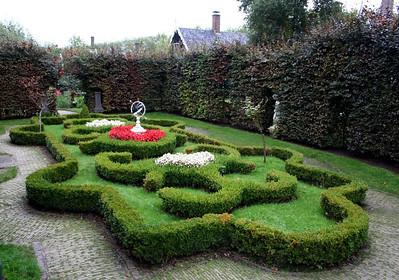 We had a quiet moment in this sculptured garden