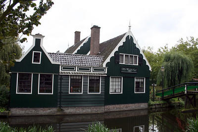 Building on the canal