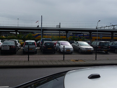 Train and carpark