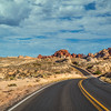 View in the Valley of Fire