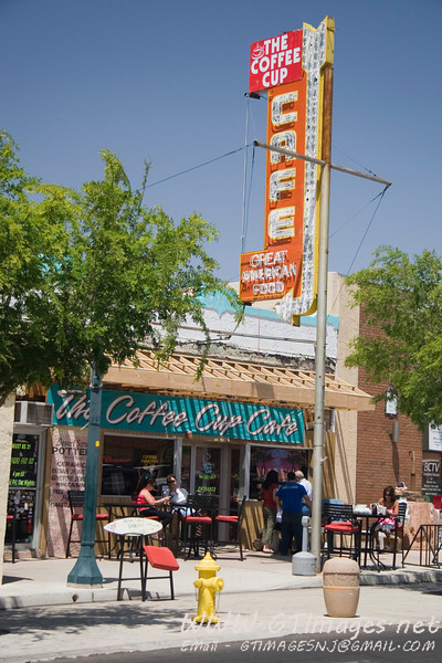 """Boulder City Nevada. This city was born due to the need to house the workers on the Boulder Dam - the """"Hoover Dam."""" The city certainly has a quaint look of yester year."""