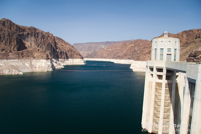 As you can see, Lake Mead is quite low.