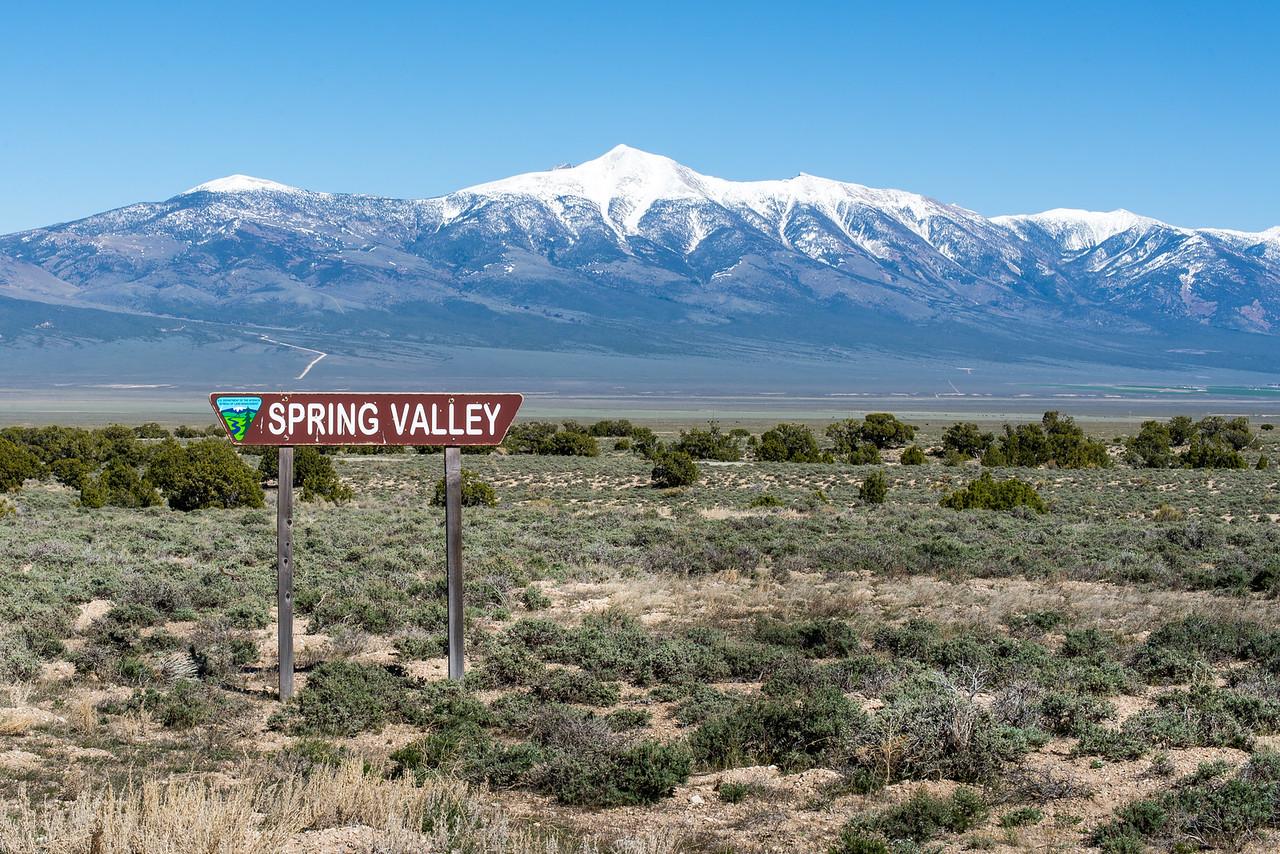 Spring Valley, Nevada - April 2016