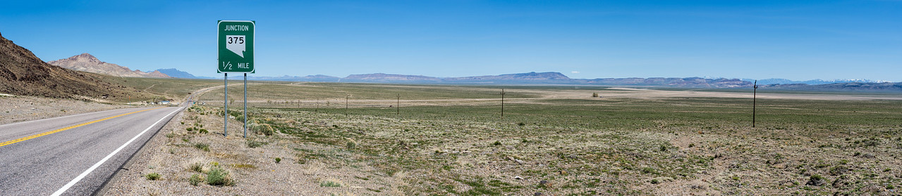 Panorama Near Tonopah, Nevada - April 2016