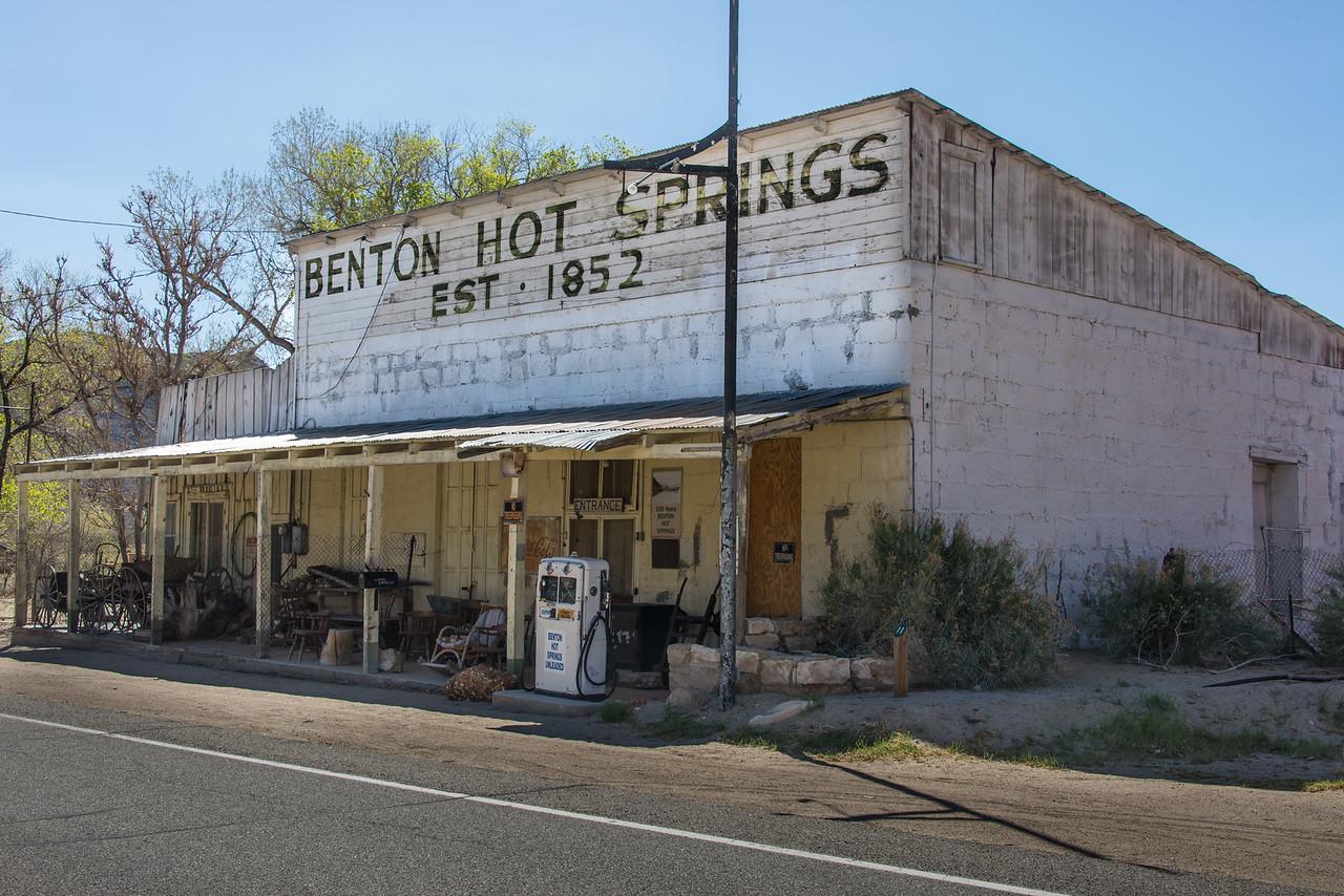 Benton Hot Springs, Nevada - April 2016