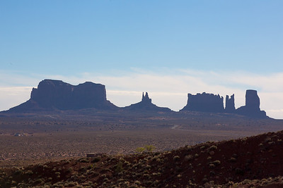 Goulding's Lodge in Monument Valley, Az