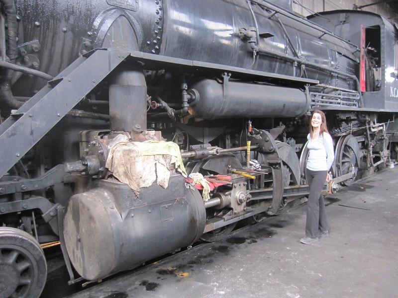 We explore this old locomotive built by American Locomotive Company in January 1909.  The boiler still runs at 190 PSI.  It's presently parked in the machine shop for repairs and maintenance.