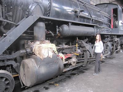 Nevada Northern Railway, Ely NV - 4/18/2014