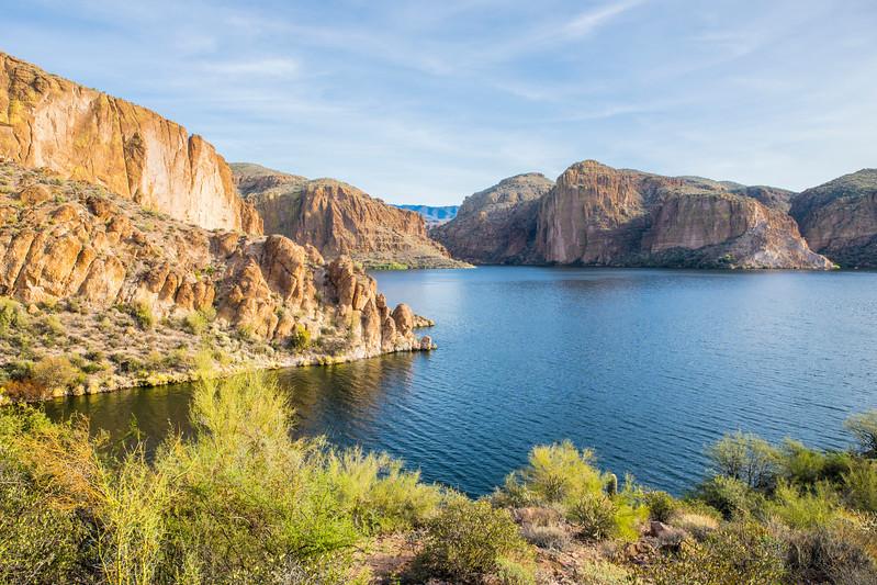 Canyon Lake on the Apache Trail