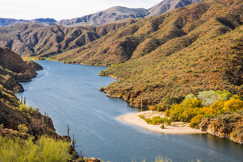 Salt River from the Apache Trail