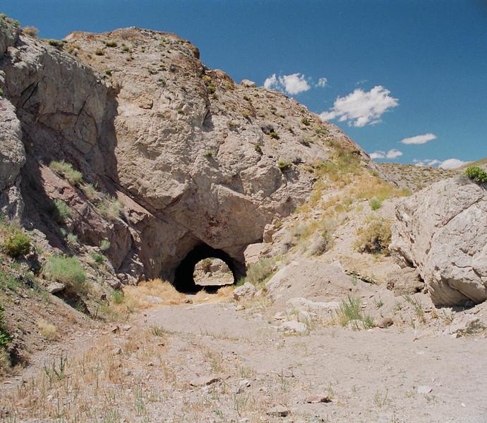 Old tunnel off Hwy 95 Alt between Schurz and Yerington, Nevada