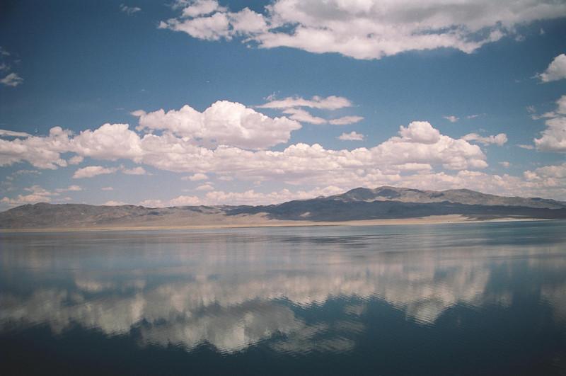 Walker Lake - Hawthorne, Nevada on a calm day.