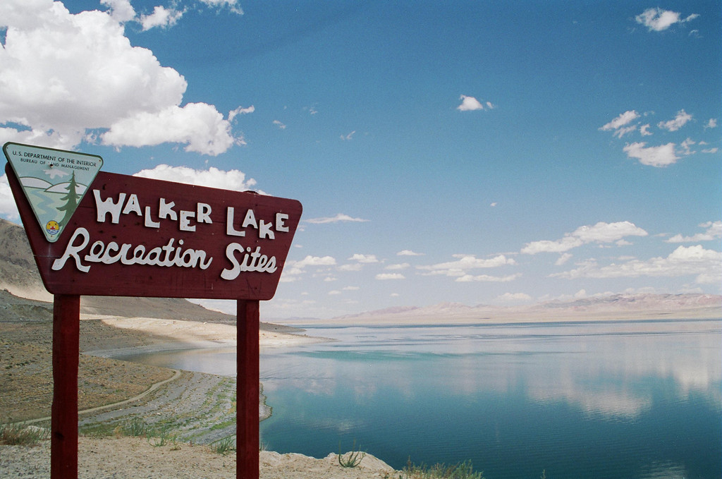 Walker Lake - Hawthorne, Nevada on a calm day.
