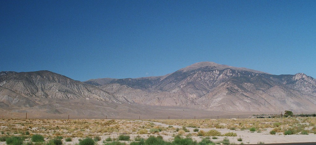 Desert on west side of Hawthorne, looking west