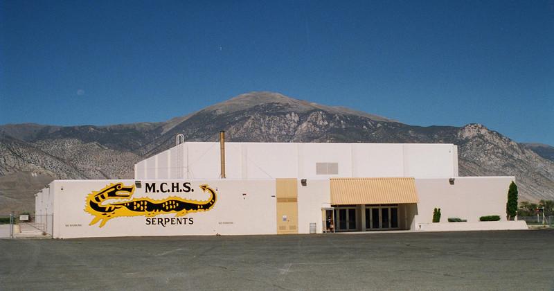 Mineral County High School Gym<br /> Hawthorne, Nevada