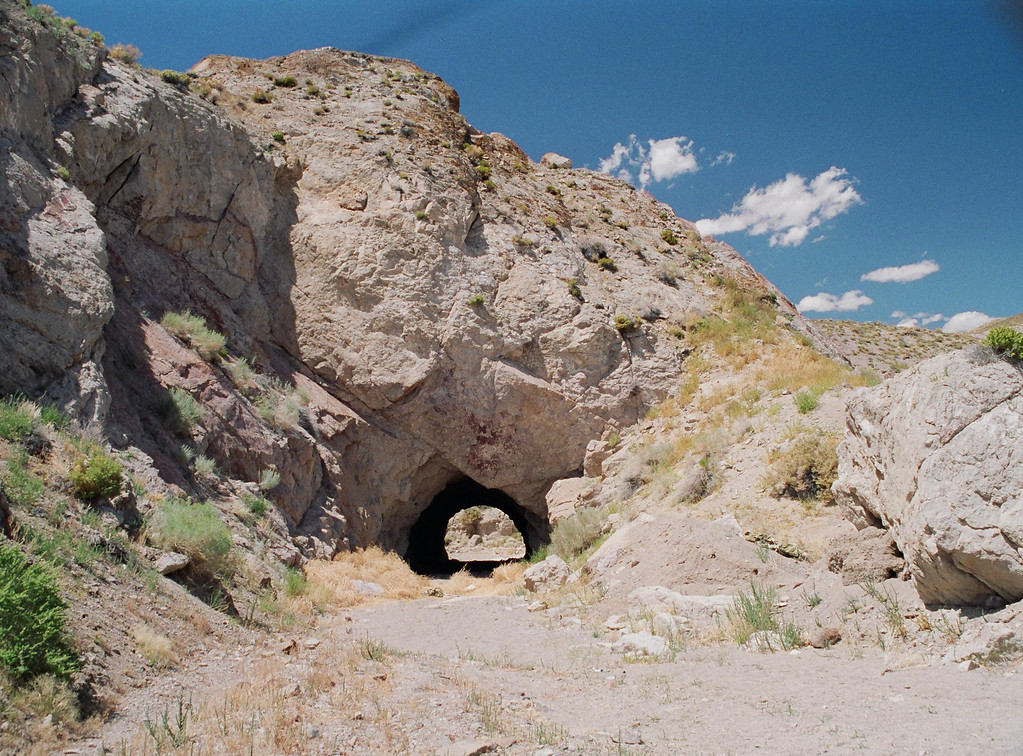 Old tunel off Hwy 95-Alt, between Schurz and Yerington, NV
