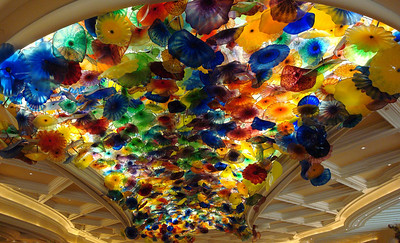Bellagio Glass Entry