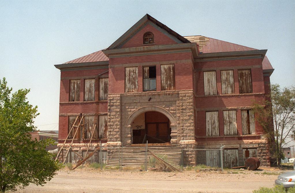 Old Goldfield School<br /> Goldfield, NV