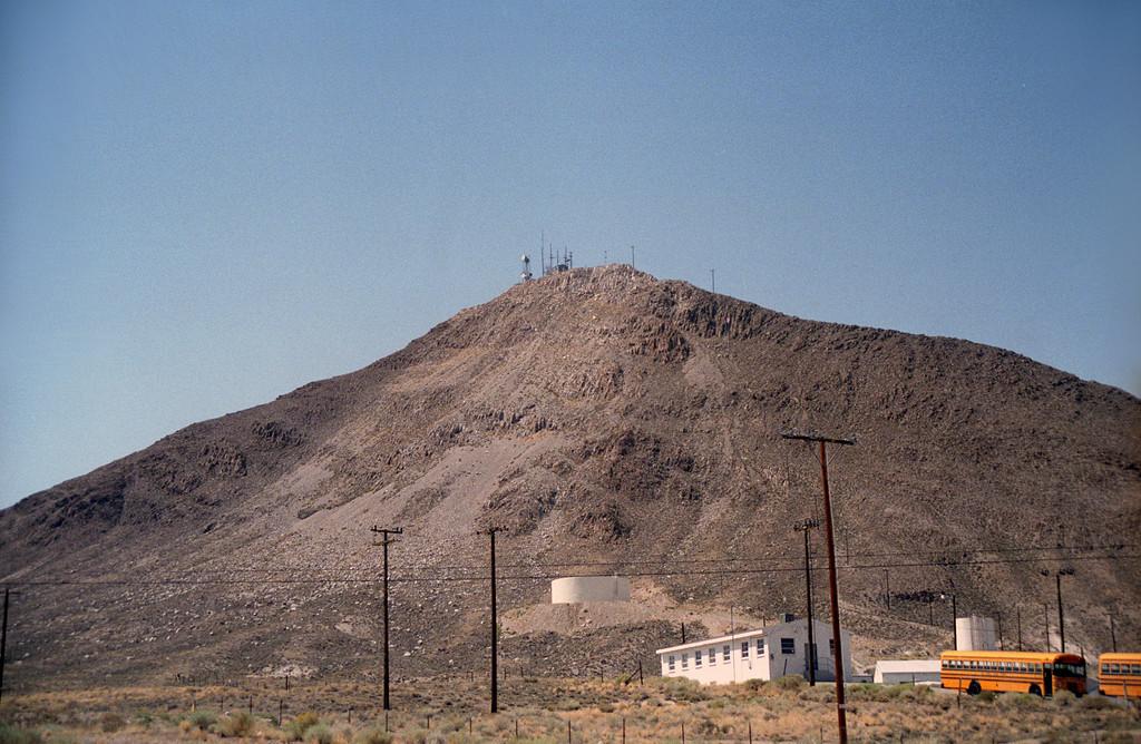 Remnants of main base - 866th Radar Sqdn (NORAD), Tonopah, NV