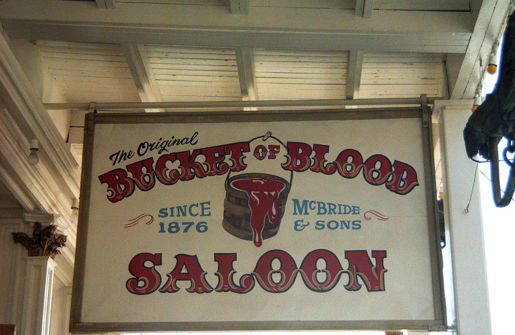 Bucket of Blood Saloon <br /> Virginia City, NV