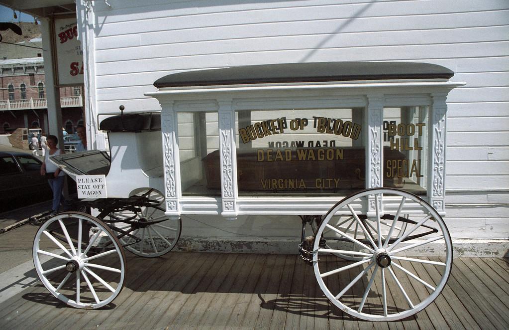 Bucket of Blood Hearse - Virginia City, NV