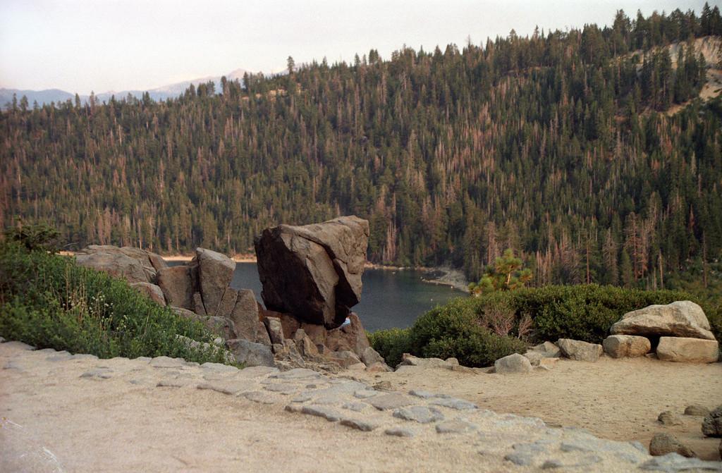 Balanced Rock<br /> Lake Tahoe