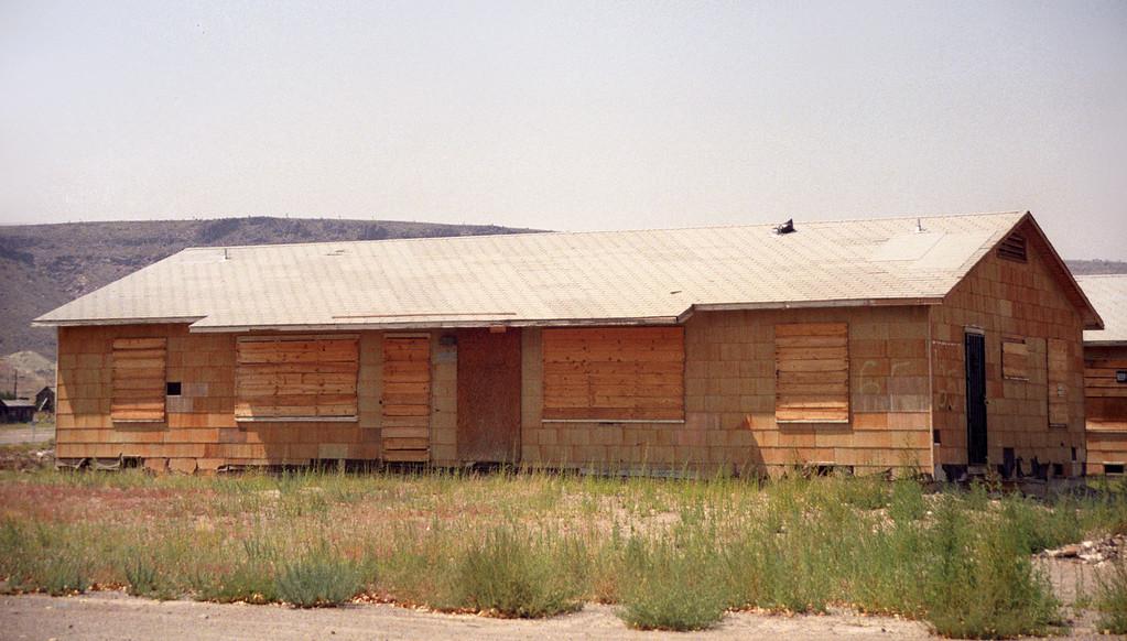 Duplex Housing unit from Babbitt, Nevada<br /> circa 1950